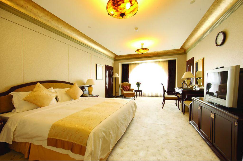 豪华欧式酒店客房